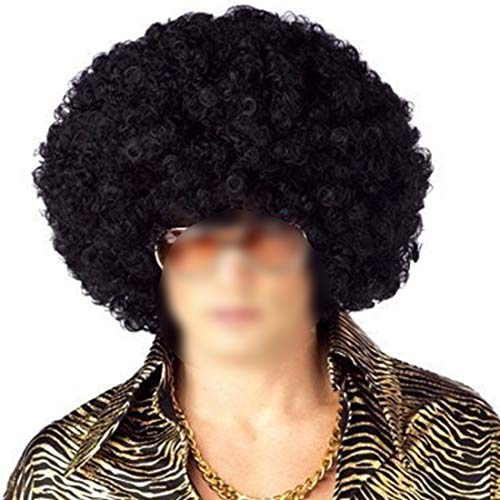 Carry stone Perruque Funky Afro Noire