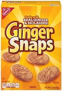 Nabisco Old Fashioned Ginger Cookies-16 oz - 2 Pack