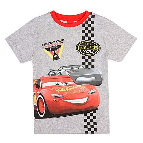 Disney jongens Cars T-shirt, lichtgrijs melange
