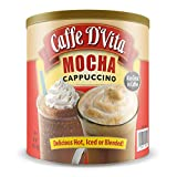 Premium Instant Mocha Cappuccino Can make Hot, Blended or add to your coffee No Trans Fat, No Hydrogenated Oils, No Cholesterol, Gluten Free, 99% Caffeine Free Creates a Rich Creamy Flavor Experience! Made in the USA