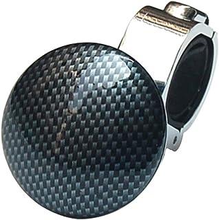 WINOMO Assistiva 1Pc Steering Wheel Spinner Knob Poder Impulsionador De Metal Volante De Fibra De Carbono Spinner Knob par...