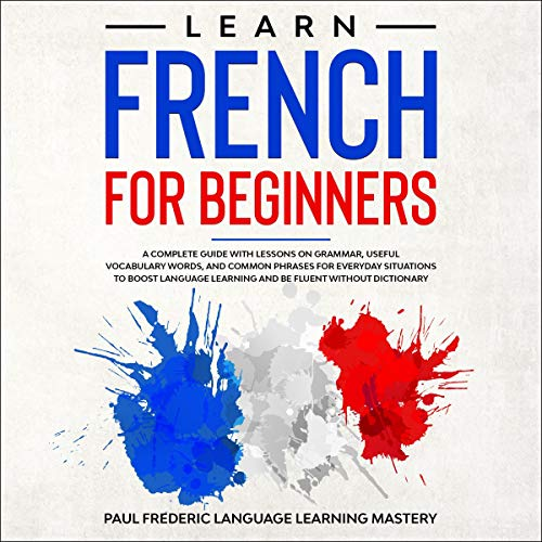 Page de couverture de Learn French for Beginners