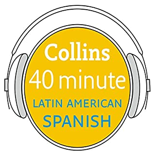 Spanish in 40 Minutes cover art
