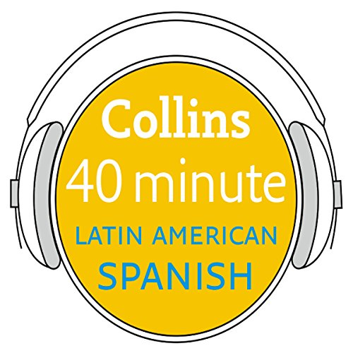 Spanish in 40 Minutes audiobook cover art