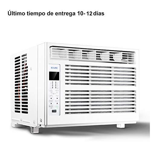 Aire acondicionado Compacto Tipo Ventana De, Mini PortáTil, con Control Remoto Y FuncióN De SincronizacióN, Adecuado para Sala De Estar, Dormitorio.