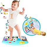 Luerme Piano Play Mat Baby Foot Piano Play Musical Mat Baby Early Education Musique Piano Clavier Tapis Tapis Musique...