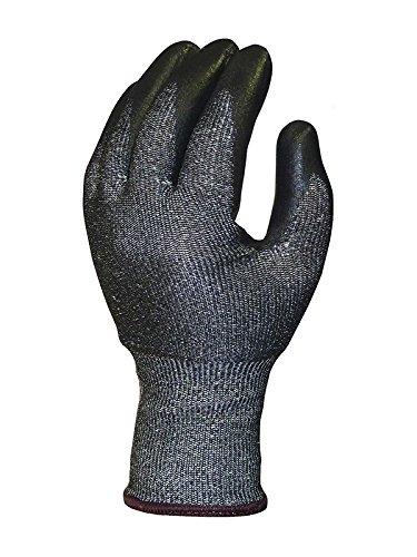 Skytec Ninja guantes sky27-l Caballero corte 5bi-poly Palm capa guantes, tamaño: L, Gris/Negro (Pack de 2)