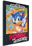 Poster Retrogame - Sonic - Formato (42x30 cm)
