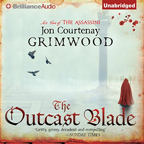 The Outcast Blade audiobook cover art