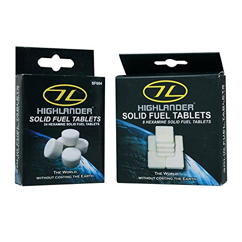Solid Fuel Tablets 8 Pack White