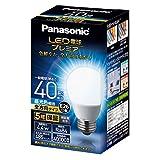 パナソニック LED電球 口金直径26mm プレミア 電球40形相当 昼光色相当(4.4W) 一般電球 全方向タイプ 1個入り 密閉器具対応 LDA4DGZ40ESW2