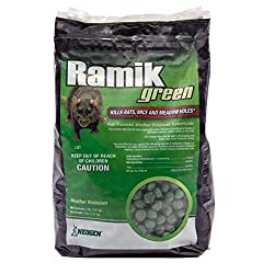 Neogen Ramik Green Fish Flavored Weather Resistant Rodenticide Nuggets: photo