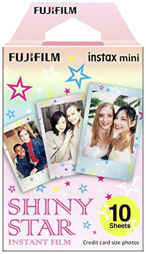 Fujifilm Instax Mini 10 Films Shiny Star