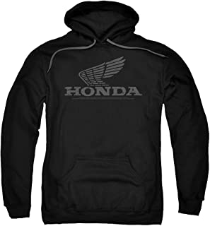 Honda Vintage Wing Unisex Adult Pull-Over Hoodie for Men and Women