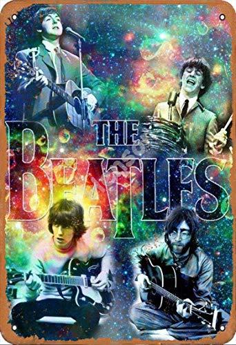 GenericBrands The Beatles 6 VintageTinSignArtIronPaintingRustyPosterDecorationAluminumplaqueForHotelCafeSchoolOfficeGarage