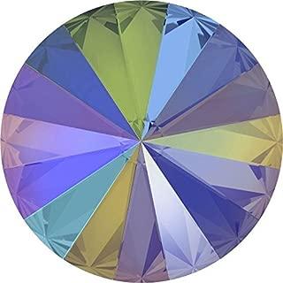 1122 Swarovski Chatons & Round Stones Rivoli Crystal Paradise Shine | 14mm - Pack of 4 | Small & Wholesale Packs