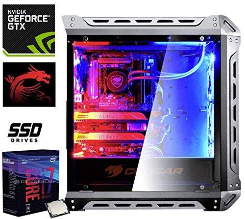 PC Gaming HOME GTX Intel Core i7-8700K 3.7GHz/12MB(6CORE)+16GB+(1.50TB)500GB SSD/EVO50 M.2+1.0TB+GEFORCE GTX1080TI/11GB+Z370 237528
