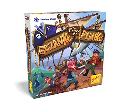 Zoch 601105159 Gezanke auf der Planke, das Spiel, bei dem standfeste Piraten sich mit der Schwerkraft messen, ab 6 Jahren