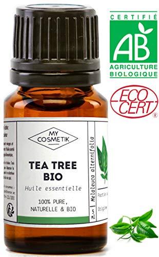 Huile essentielle de Tea Tree BIO (Arbre à Thé)- MyCosmetik - 5 ml