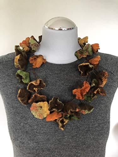 Filzkette Herbst