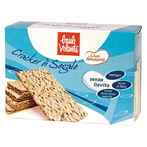 Baule Volante Cracker Di Segale Biologici 250g