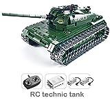 Ingenious Toys Técnica Tanque Militar / 453 Piezas Set Construcción #8011 Tanque