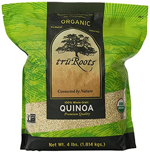 truRoots Organic Quinoa 100% Whole Grain Premium Quality, 2Pack (3 lbs...