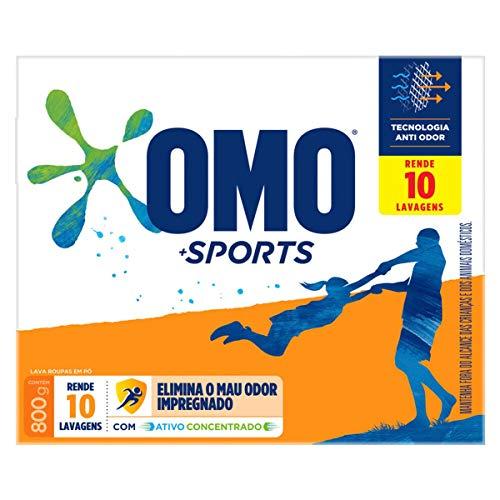 Sabão em Pó Omo Sports 800 G, OMO, 800G