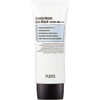 PURITO ピュリト安らかなウォーターサンブロックSPF50+PA++++ 60ml 柔らかくて心地よいサンクリーム [並行輸入品] comfy water sun block