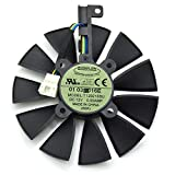 T129215SU 12V 0.5A 87mm 4Pin Grafikkartenlüfter For ASUS STRIX GTX980Ti GTX970 GTX1070 GTX 1080 STRIX R9 390X R9-390 Graphics Card Cooling Fan