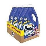 Dash Liquido Lavanda 104 Lavaggi, Detersivo per Bucato Lavatrice, Maxi Formato da 5.72 L