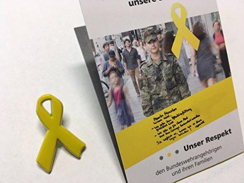 Solidarität mit unseren Soldaten & ihren Familien 1x Gelbe Schleife