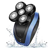 Electric Razor TURN RAISE Electric Shaver Wet&Dry Rotary Shaver for Men Hair Razor
