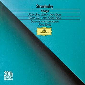 ストラヴィンスキー:室内楽・声楽作品集