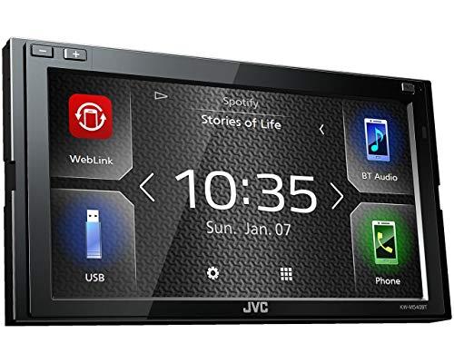 JVC KW-M540BT 17,3 cm Digital-Media-Receiver mit Bluetoothmodul Schwarz