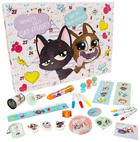 Sambro LPS-6722 Littlest Pet Shop Adventskalender, Mehrfarbig