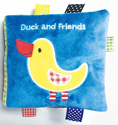 Duck and Friends: A Soft and Fuzzy Book Just for Baby! (Friends Cloth Books)