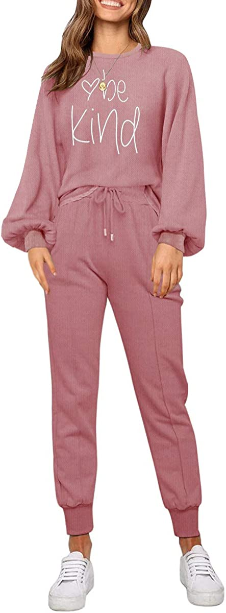 Max 41% OFF ETCYY Women Sweatsuits Set 2 Sleeve Outfits Pajama Sale special price Batwing Piece