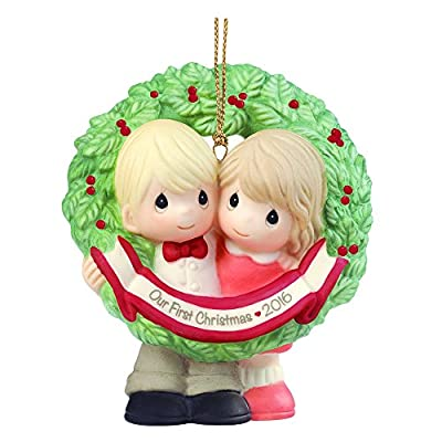 "Our First Year Together Christmas Ornaments"" border="
