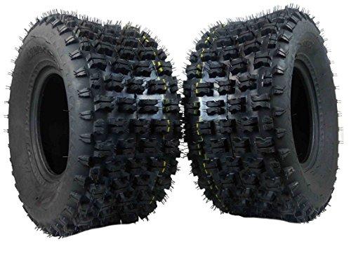 MASSFX Rear Tire Set (2x) 4ply 20X10-9 ATV Tires 20 10 9 20x10x9 Pair