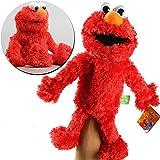 Nobrand Sesame Street The Muppet Show,Giocattolo Della Peluche Giocattolo Di Burattini Di Peluche Sesame Street Giocattolo Di Peluche Di Sesame Street Elmo Cookie Pupazzo Di Mano Giocattolo 31cm/Rosso