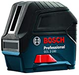BOSCH 65 Ft. Self-Leveling Cross-Line Combination Laser with Plumb Points GCL 2-160