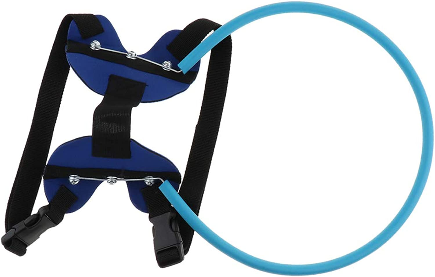 Baoblaze Blind Dogs Outdoor Safety Walking Tool Puppy Plastic Circle Ring Outfit  M
