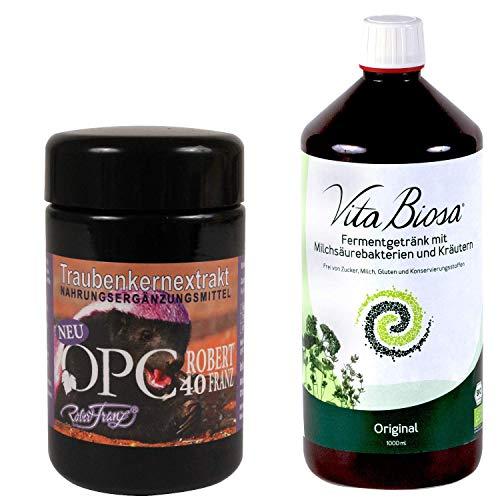Robert Franz OPC 40 (60 Kapseln) + Vita Biosa (1000 ml)