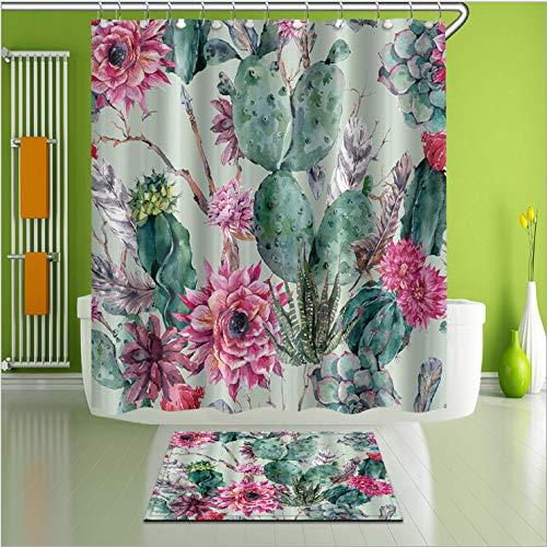 cortinas de baño antimoho y lavables
