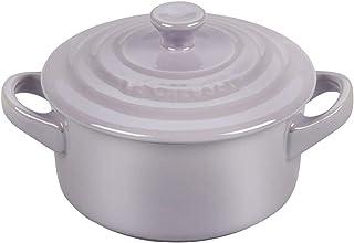 Le Creuset Metallic Provence Enameled Stoneware 8 Ounce Mini Round Cocotte