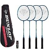 Dunlop NanoMax Pro - Racchette da badminton (2 o 4 set opzioni)