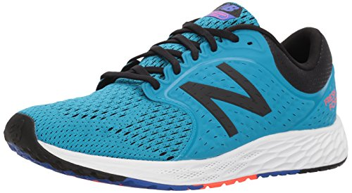 New Balance Men's Fresh Foam Zante V4 Running Shoe, Blue/Black, 11.5 D...
