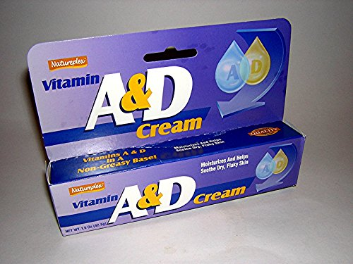Set of 5 (FIVE) Natureplex A & D Cream, 1.5 oz. for Rashes, Dry Skin, Irritation,