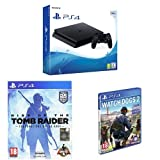 Foto PlayStation 4 500 Gb D Chassis Slim + Watch_Dogs 2 + Rise of The Tomb Raider: 20 Year Celebration
